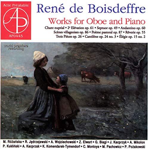 Werke Für Oboe und Klavier/Ensemble