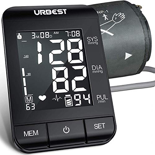 Best Review Of URBEST Blood Pressure Monitor - Accurate Digital BP Machine Extra Large Upper Arm Blo...