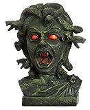 Medusa Animated Lighted Motion & Sound Halloween Decor Bust