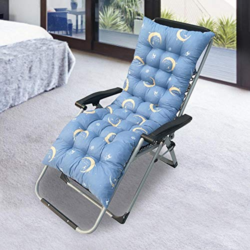 Sunlounger Cushions - Only Cushions, Garden Furniture Cushions - Portable Garden Patio Thick Padded Bed Recliner Relaxer Chair Seat Cover for Travel/Holiday/Indoor/Outdoor (18.9049.213.15in)