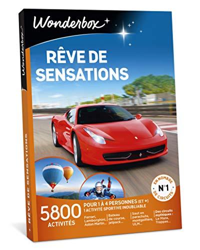 Wonderbox - Coffret cadeau - RÊVE DE SENSATIONS -...