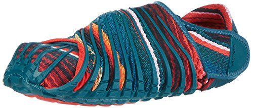 Vibram Men's and Women's Furoshiki Caribbean Sneaker, Peacock Blue/Multi, EU:36-37/UK Woman: 4.5-5.5/cm:22-23/US Woman:5.5-6.5