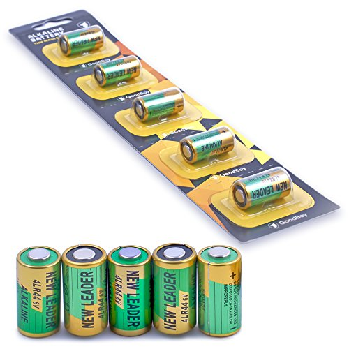 Bark Collar Batteries by GoodBoy 5-Pack 6V Alkaline Battery 4LR44 (Also Known as PX28A, A544, K28A, V34PX)