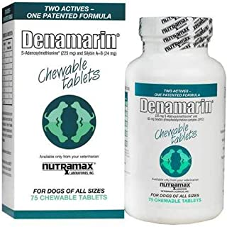 Nutramax Denamarin Chew Tab - Dogs All Sizes - 225 Mg