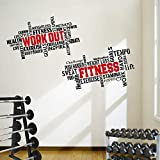 Home Gym Wall Decals