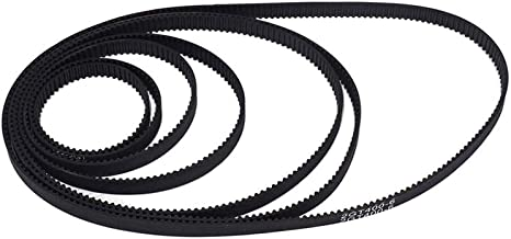iOrion 3D Printer Timing Belt 2GT-6 Closed Loop Rubber Belt 110mm 112mm 122mm 158mm 200mm 280mm 300mm 400mm Width 6mm