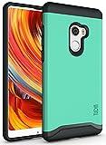TUDIA Xiaomi Mi Mix 2 Hülle, Slim-Fit Merge Dual Layer Schutzhülle für Xiaomi Mi Mix 2 (Minze)