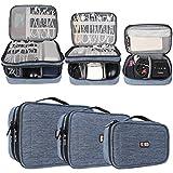 BUBM 3 Stücke Mehrfachfunktion Kabelorganiser Tasche Reisetasche mit Doppelschichten für...