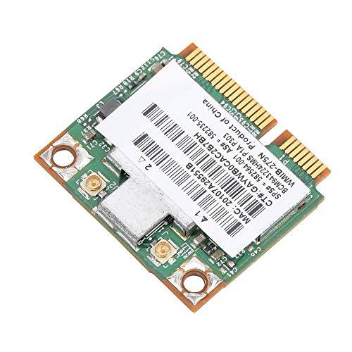 Denash Drahtlose Netzwerkkarte für HP BCM943224HMS 300 Mbit/s Universelle drahtlose Dualband-Netzwerkkarte für HP 2540p/8460p/5310m/5320m