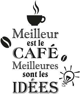 Stickers meilleures café–1Tabla 20x 70cm