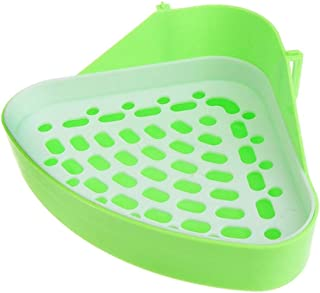 Dmygo Dog and Cat Litter Box Clean and Comfortable, Designer Box Small Animal Triangle Toilet Potty Trainer Pet Pee Corner...