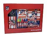 Atletico de Madrid GS-500-ATL Set de Papelería, 20 piezas , color/modelo surtido