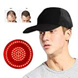 Hair Growth Hat, Adjustable 76pcs Lamp Bead Reduce Hair Loss Oil Control Hair Growth Cap Instrument
