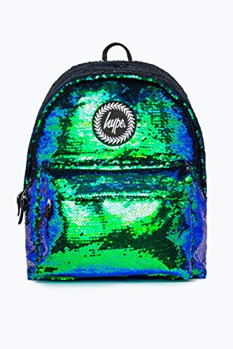 Hype Rucksack Taschen Winter 2018 Rucksäcke - Schultasche - Viele Neue Farben & Designs AW-2018 Sammlung - Wählen Sie Ihr Favorit - Mermaid Sequin, One Size