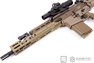 "PTS(ピーティーエス) Kinetic SCAR MREX M-Lok 4.9"" Rail スカーエクステンションレイル (ダークアース(KN001490313))"
