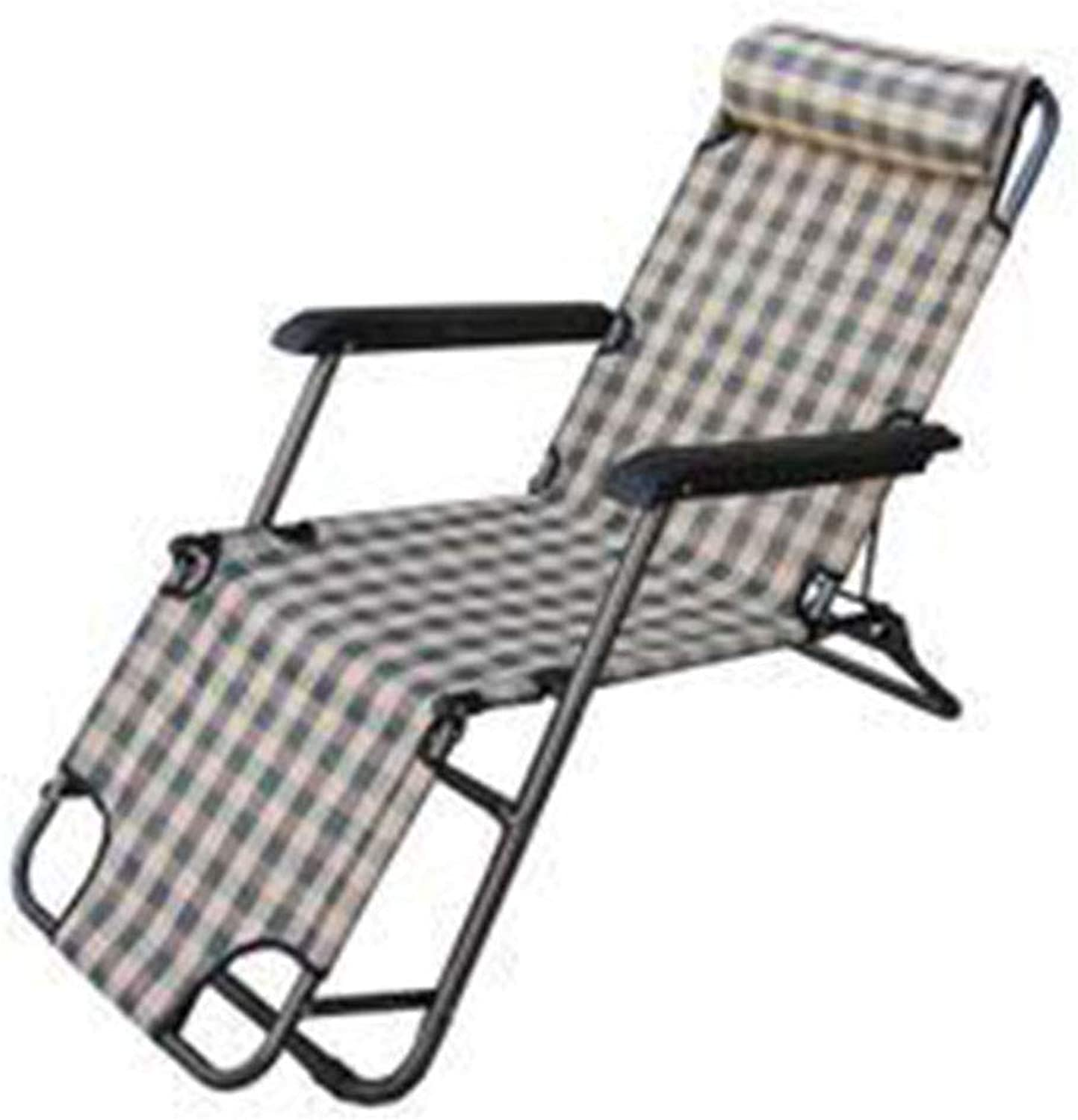 Folding Chair, Direct Folding Recliner Backrest Handrail Convenient Casual Beach Fishing Trip Hiking Park Barbecue Use