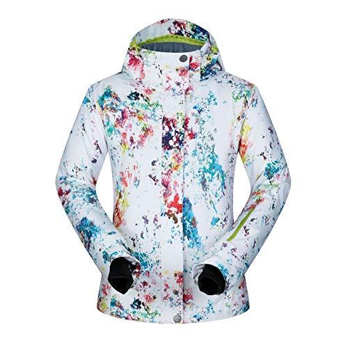 Femme Neige Vestes de Ski Montagne en Plein air Femme Costume de Ski Coupe-Vent Imperméable Manteau d'Hiver Chaleureuse Respirabilité Habit de Neige Jeu-B S