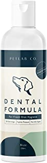 Petlab Co. Dental Wash | Dog Mouthwash & Teeth Cleaner | Dental Water Additive, Targets Plaque & Tartar | Maintains Clean ...
