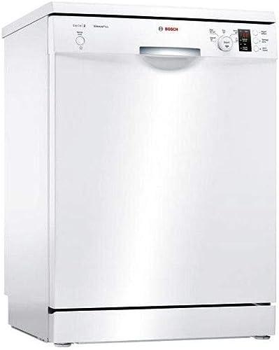 Lave vaisselle Bosch SMS25AW00F - Lave vaisselle 60 cm - Classe A+ / 48 decibels - 12 couverts - Blanc bandeau : Blan...