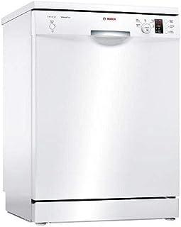 Lave vaisselle Bosch SMS25AW00F - Lave vaisselle 60 cm - Classe A+ / 48 decibels - 12 couverts - Blanc bandeau : Blanc - P...