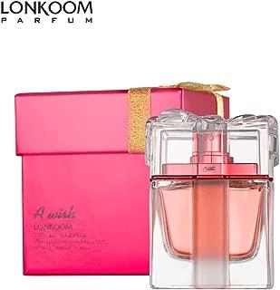 LONKOOM Perfume EDP for Women Eau De Parfum Sweet-Fruity Fragrance For Women A WISH RED 100ml