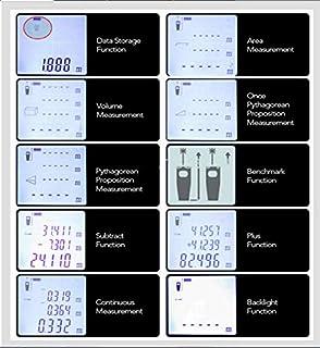جهاز ليزر لقياس المسافات والزوايا 100 متر