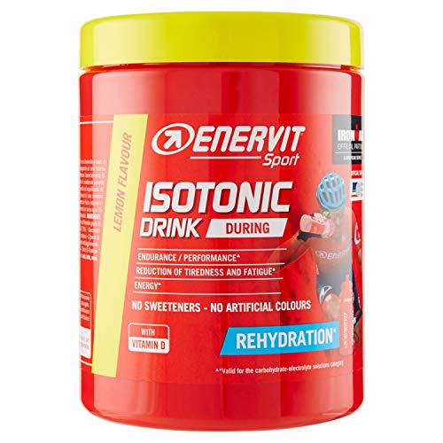 ENERVIT Integratore Isotonic Drink Limone, 420 g