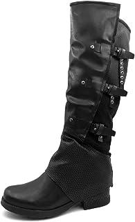 Amazon.it: anfibi donna alti 37 Stivali Scarpe da