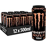 Monster Energy Mule Ginger Brew 500 ml, caja de 12