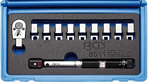 BGS 8511 | Llave de radios dinamométrica | con cabezales intercambiables | 3 -...