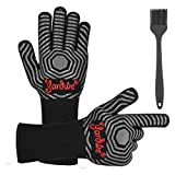 Best Barbecue Gloves - Yardwe BBQ Gloves, 1472 ℉ Heat Resistant Oven Review