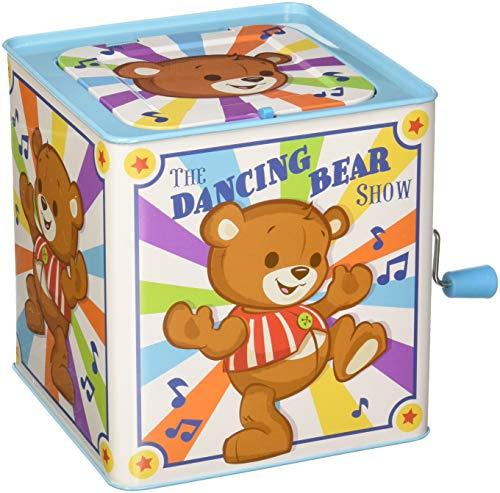 Schylling SCTLCBJB Dancing Bear Jack in The Box Multicolore