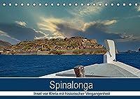 Spinalonga - Insel vor Kreta mit historischer Vergangenheit (Tischkalender 2022 DIN A5 quer): Inselchen mit bewegter Vergangenheit und traumhaften Panoramen auf das Mittelmeer (Monatskalender, 14 Seiten )