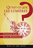 Qu'est-ce que les Lumières ? (La Petite Collection t. 508) - Format Kindle - 1,99 €