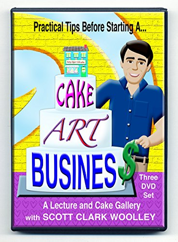 Practical Tips Before Starting a... CAKE ART BUSINESS - Scott Clark Woolley - a lecture and cake photo gallery - PAL format