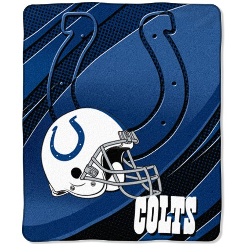 Indianapolis Colts NFL Imprint Micro Raschel Blanket (50 x60 )