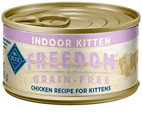 Blue Buffalo Freedom Grain Free Natural Kitten Pate Wet Cat Food