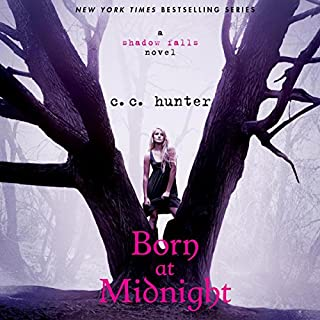 Born at Midnight audiobook cover art