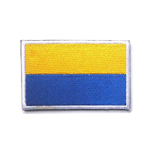 3D Stickerei Armband Ukraine Flagge Patch