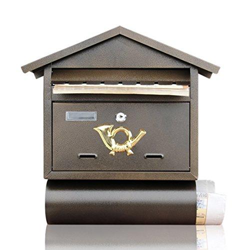 LRW Villa brievenbus buiten opknoping muur krant doos creatieve adviesdoos koffie winkel muur post doos