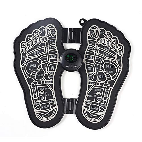 jieyun Appareil de massage des pieds, machine de remodelage des jambes, stimulation musculaire pour enfants, adultes, personnes âgées, soulagement de la douleur