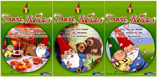 David, der Kabauter - Vol. 1-3 Set (3 DVDs)