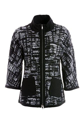 TUZZI Damen Lässige Indoor Jacke aus Wollmischgewebe