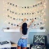 Luci Led Con Kit Per Foto JP-LED® 【10M 100 Led】Catena Luminosa Portafoto�...