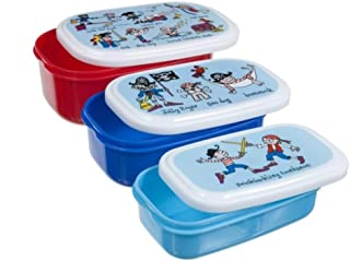 Tyrrell Katz Pirate snack box set Boy's by LK Gifts and Homewares