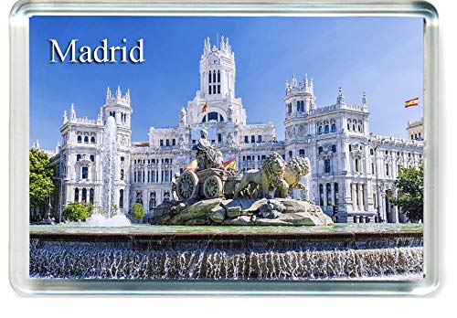 H246 Madrid Imán para Nevera Spain Travel Fridge Magnet