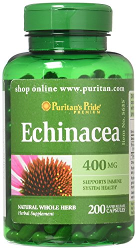 Puritans Pride Echinacea 400 Mg, 200 Count