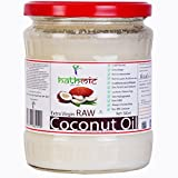 HATHMIC 500ml Raw Extra Virgin Coconut Oil (Cold Pressed)