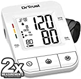 Dr Trust (USA) Fully Automatic Icheck Digital Blood Pressure BP Monitor Machine with Mdi Technology (White)