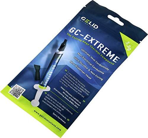 GELID Solutions GC-Extreme 3.5gr mit Werkzeug - Wärmeleitpaste für Kühlkörper   Maximale Wärmeleitfähigkeit  Einfache Anwendung